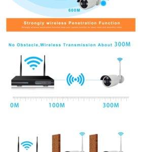 Продам новый видеонаблюдение Wi'Fi