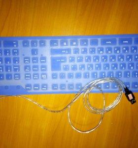 Клавиатура на резиновой основе. Возможен торг!