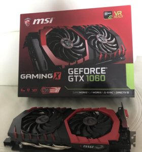 GeForce GTX 1060 6 gb