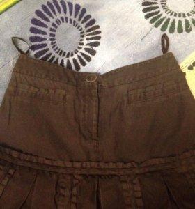 Юбка 44 размер джинсовая