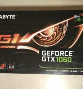 Gigabyte GTX 1060 6GB g1 gaming