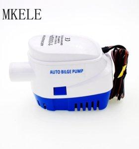 Автоматический трюмный насос помпа для воды