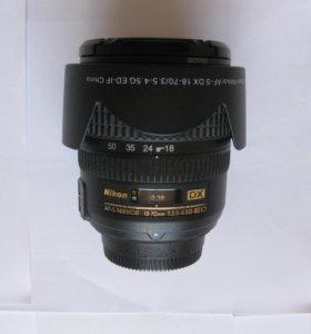 Объектив nikkor AF-S 18-70mm 1:3.5-4.5 G ED