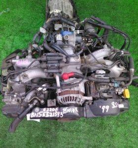 Двигатель SUBARU LEGACY BH5 1999 EJ201 (521593) EJ201DXAVE 4WD  контрактная