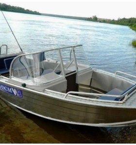 Новая лодка моторная 430DCM (от производителя)