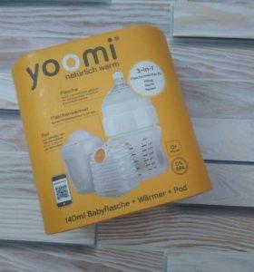Новая бутылочка Yoomi для кормления