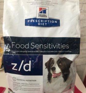 Корм для собак Hill's z/d