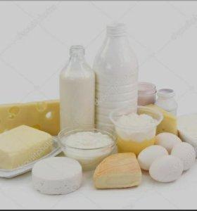 Деревенская молочная продукция под заказ