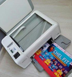 Цветной принтер, копир, сканер, печать фото