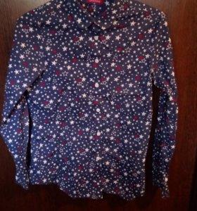 Рубашка(с рисуноком в виде звёзд)