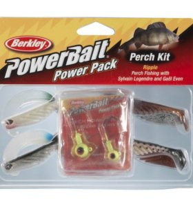 Berkley, Набор приманок Perch Ripple Pro Pack