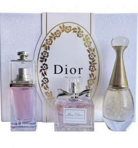 Christian Dior For Women 3x30 ml