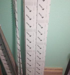 Реечный потолок, рейки