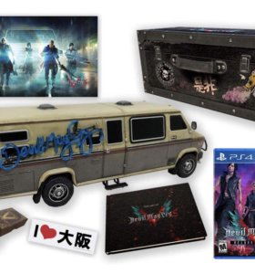 Devil May Cry 5 Collector's Edition PS4 Новая