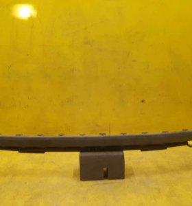 Юбка заднего бампера Mercedes GLA x156 (14-17)