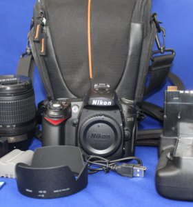 Nikon d90 +nikon 18-105+батарейный блок