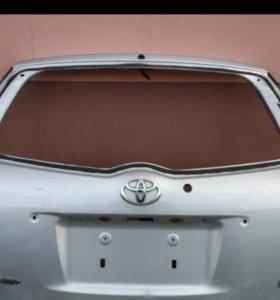 Дверь задняя 5-я на Тойота Филдер 141 кузов
