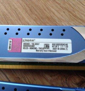 DDR 3, Kingston, радиаторы