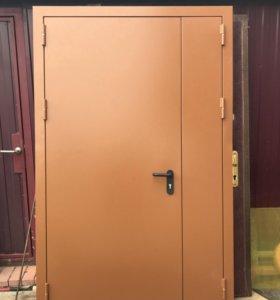 Новая противопожарная дверь
