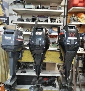 Лодочные моторы Suzuki 9.9 (15), Yamaha 9.9 (15)