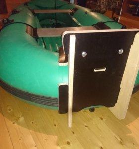 Транец для надувной лодки