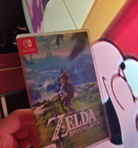 Игра Zelda Breath Of The Wild для nintendo Switch