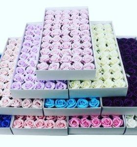 розы из мыла для букетов