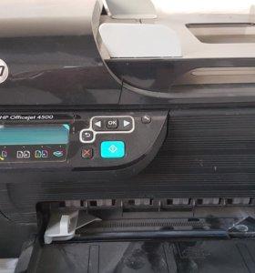 Принтер( сканер, копир) цветной HP officeget 4500