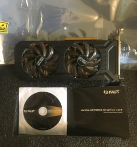 Palit GeForce GTX 1060 6gb