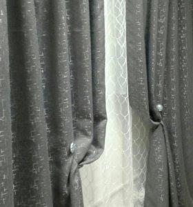 Готовые шторы (новые)