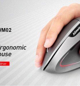 Эргономичная вертикальная беспроводная мышь