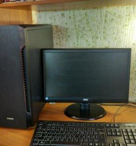 Игровой компьютер core i7 + монитор