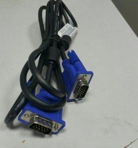 Кабель для компьютера VGA - VGA