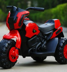 Электромотоцикл трицикл мотоцикл детский