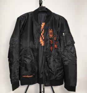Marcelo Burlon куртка бомбер