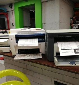 Лазерные МФУ Xerox,HP и др. ЗАПРАВЛЕНЫ. Гарантия.