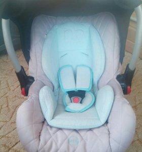Автолюлька Happy Baby и дуга