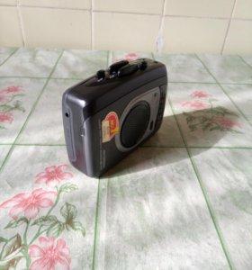 Stereo диктофон кассетный Chunlei