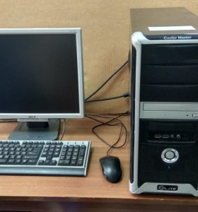 Компьютер в сборе №1
