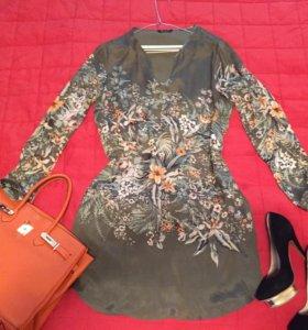 Брендовое платье-туника Massimo Dutti оригинал