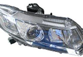 Фара правая под корректор (КСЕНОН) на Хонда Цивик 9 поколение Седан / Honda Civic - 9 поколение (2012-2015) Седан