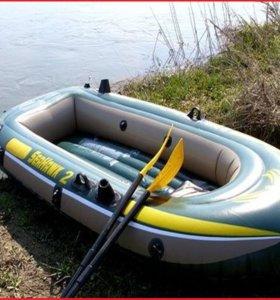 68347 Intex надувная лодка seahawk