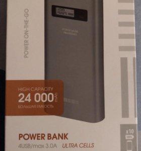 Внешний Аккумулятор 24.000Мач