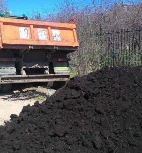 Натуральные удобрения чернозём, навоз, песок.