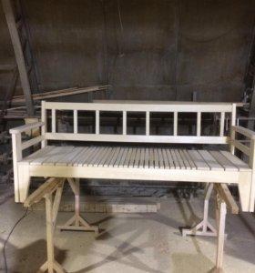 Скамья раздвижная скамья для отдыха