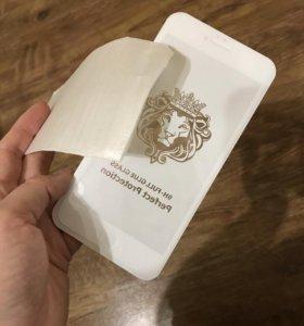 Защитное стекло iPhone 6 Plus white, 6s plus white