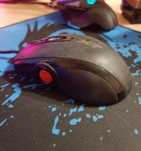 Игровая мышь а4tech х7