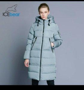 Новое зимнее пальто р.46 фирмы ICEbear
