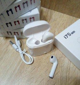 Bluetooth наушники новые, в коробке!