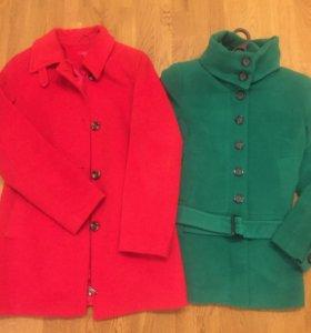 Пальто ( цена за 2 пальто)